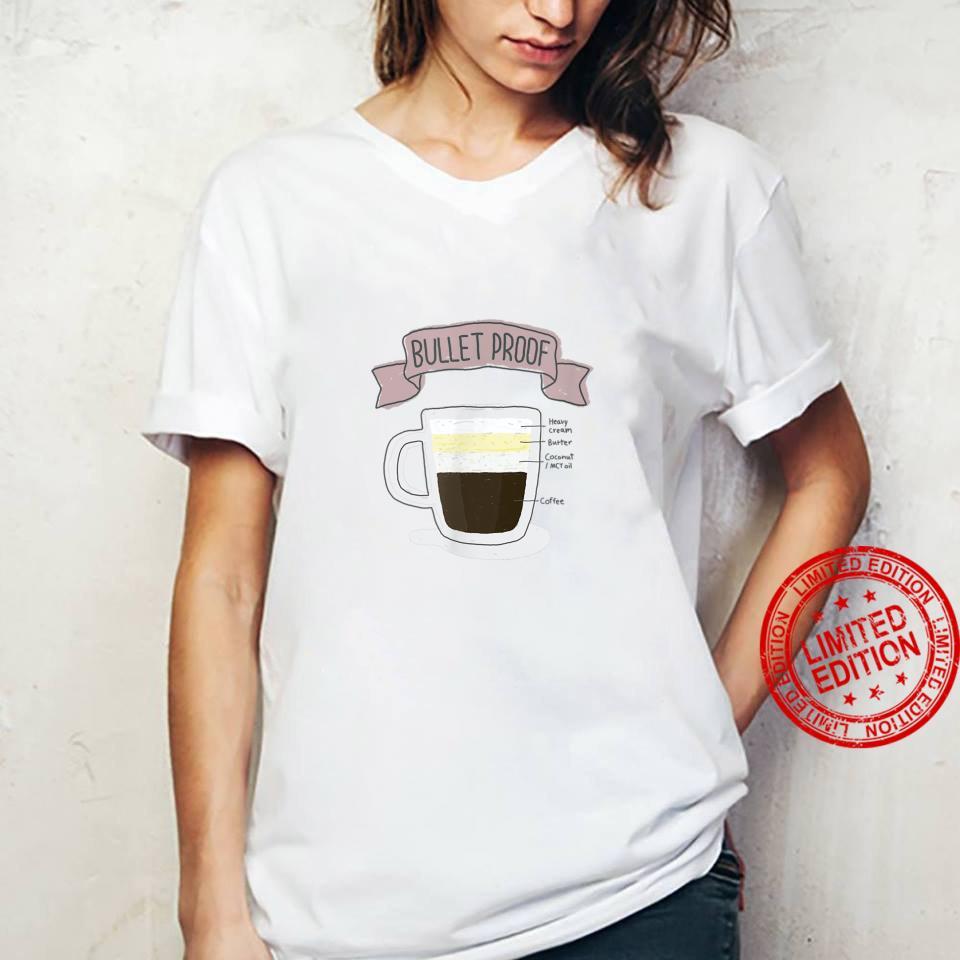 Bulletproof Coffee How to Keto Shirt ladies tee