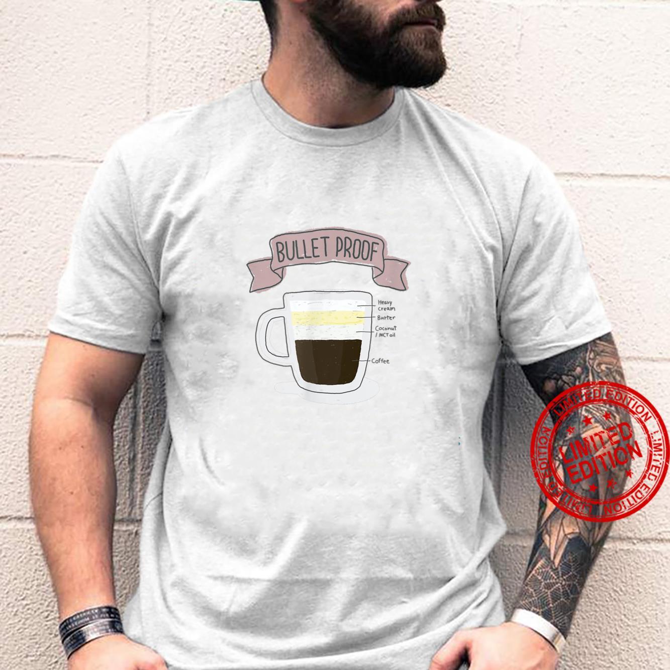 Bulletproof Coffee How to Keto Shirt