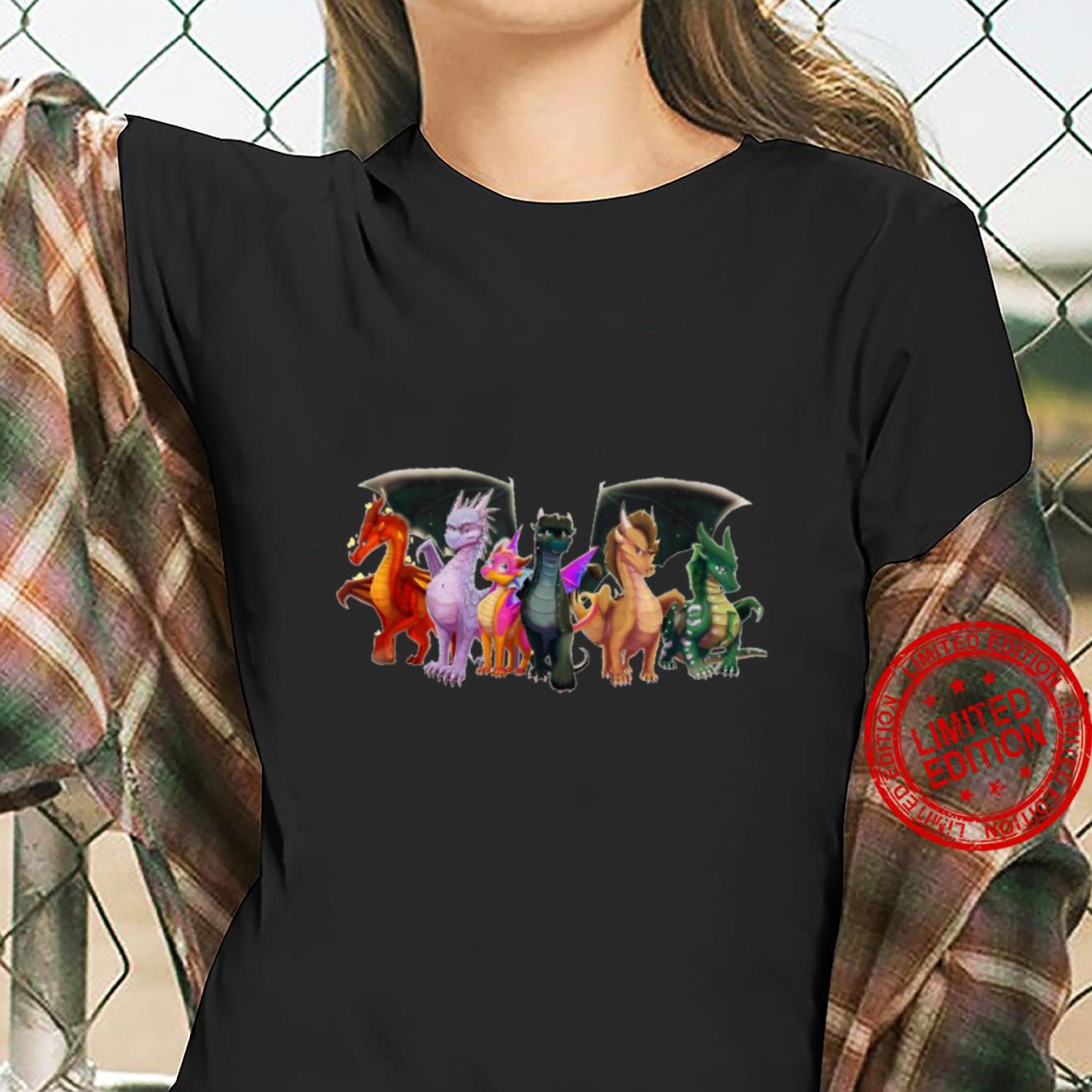 Wings of Fire - All Together Shirt ladies tee