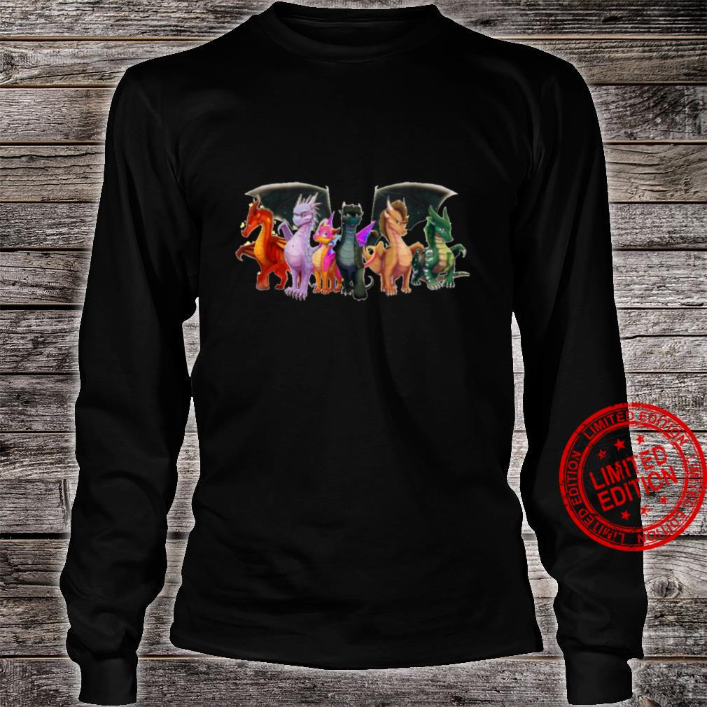 Wings of Fire - All Together Shirt long sleeved